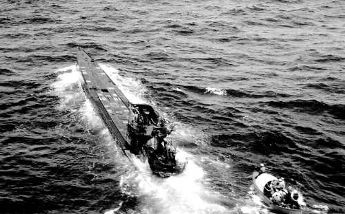 US Navy Sailors Board U-505